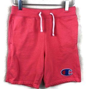 Champion Youth Boys Shorts, Orange Large